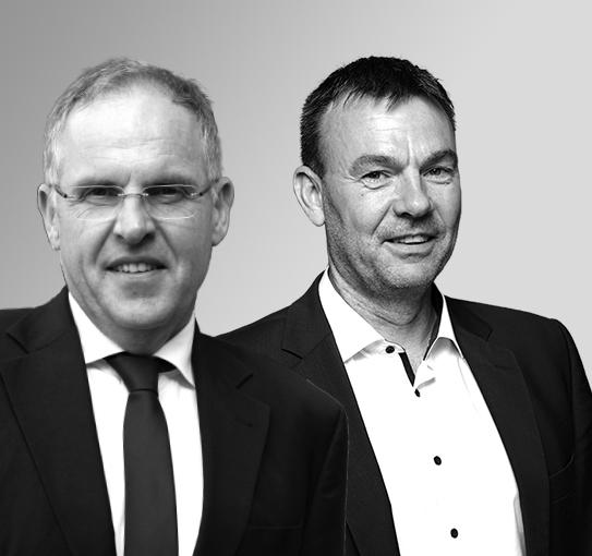 Prof. Dr. Ludanek und Prof. Dr. Rausch