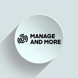 Logo von Manage and More im 3DSE Design